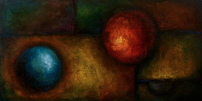 Basic Painting - Abstract Design 58 by Michael Lang