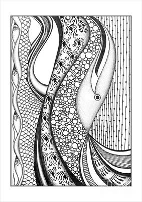 Abstract Doodle Art Original by Prajakta P