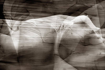 Female Photograph - Abstract Female Nude No.18 by Jochen Schoenfeld