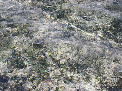 Bubble Photograph - Abstract Gray Water  by Nat Air Craft