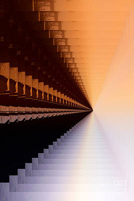 Abstract Photograph - Abstract Industrial Sunrise by Scott Cameron