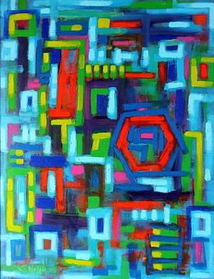 Abstract Language II Original by John  Nolan