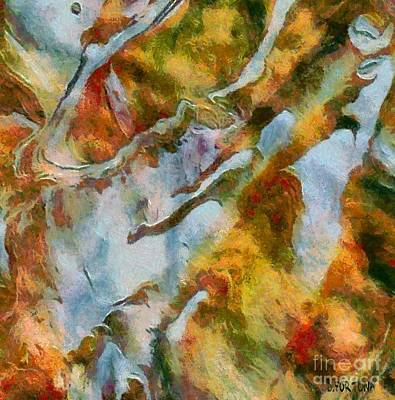 Mountain Mixed Media - abstract mountains I by Dragica  Micki Fortuna