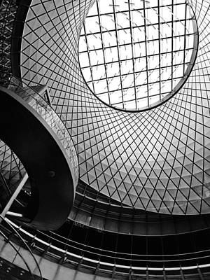 Abstract Oculus Print by Jessica Jenney