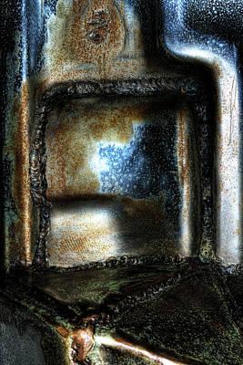 Abstruse Photograph - Abstract Of Steel by Scott  Wyatt