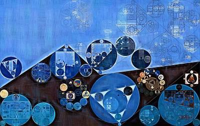 Feelings Digital Art - Abstract Painting - Endeavour by Vitaliy Gladkiy