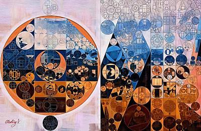 Nero Digital Art - Abstract Painting - Ghost by Vitaliy Gladkiy