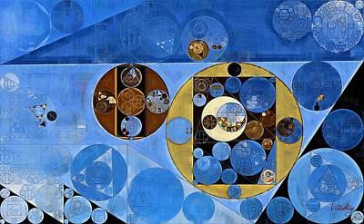 Abstract Painting - Husk Print by Vitaliy Gladkiy