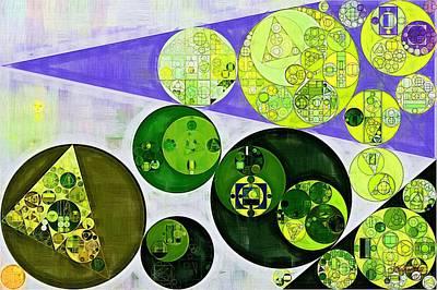 Abstract Painting - June Bud Print by Vitaliy Gladkiy