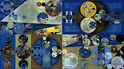 Abstract Painting - Laurel Green Print by Vitaliy Gladkiy