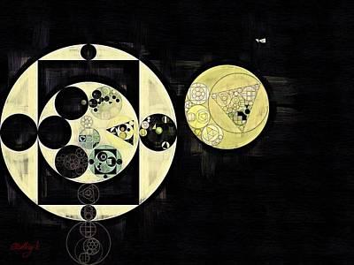 Mint Digital Art - Abstract Painting - Mint Julep by Vitaliy Gladkiy