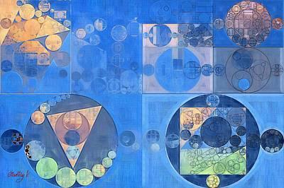 Feelings Digital Art - Abstract Painting - Mist Grey by Vitaliy Gladkiy