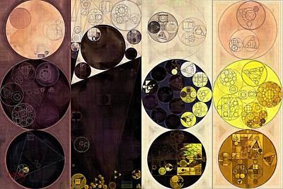 Abstract Painting - Potters Clay Print by Vitaliy Gladkiy
