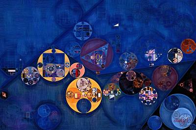 Forms Digital Art - Abstract Painting - Quicksand by Vitaliy Gladkiy