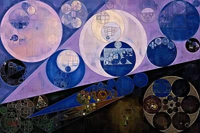 Abstract Painting - Resolution Blue Print by Vitaliy Gladkiy