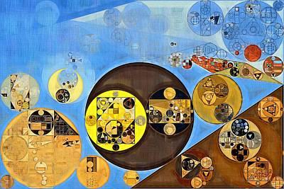 Abstract Painting - Rob Roy Print by Vitaliy Gladkiy