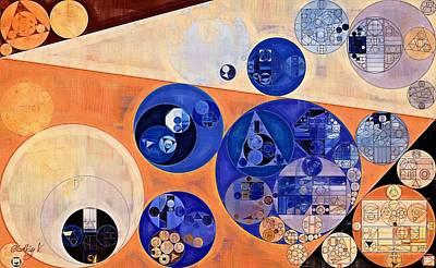 Forms Digital Art - Abstract Painting - Tumbleweed by Vitaliy Gladkiy