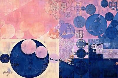 Rectangles Digital Art - Abstract Painting - Waikawa Grey by Vitaliy Gladkiy