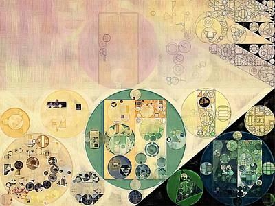 Feelings Digital Art - Abstract Painting - Xanadu by Vitaliy Gladkiy