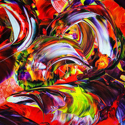 Abstract Perfection 2 Print by Walter Zettl