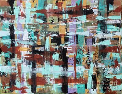 Abstract Plaid Original by Karla Gerard