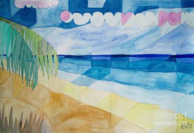 Abstract Seascape Original by Aleksandra Vasovic