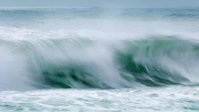 Abstract Soft Waves Original by Dapixara Art