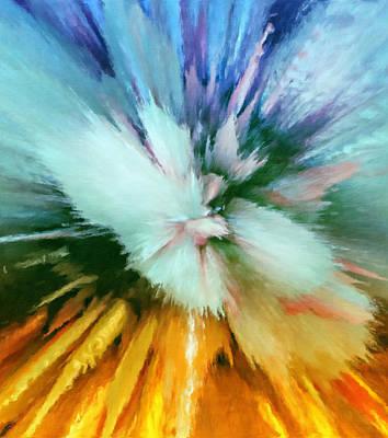Creativity Mixed Media - Abstract Storm Vortex by Georgiana Romanovna