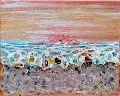 Abstract Sunset Original by Regina Valluzzi