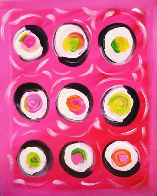Abstract Sushi Original by Amanda Hunter