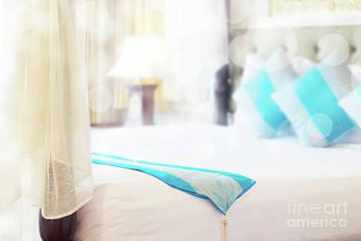 Abstract Thai Style Bedroom Print by Atiketta Sangasaeng