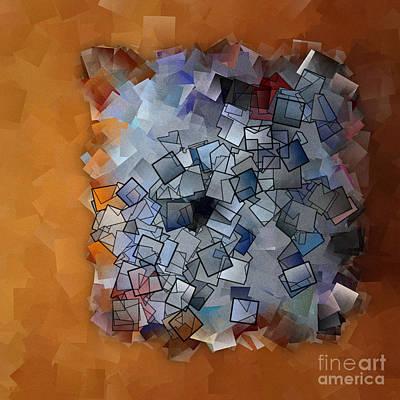 Revival - Abstract Tiles No15.824 Print by Jason Freedman