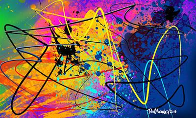 Abstract Universe Print by Don Macauley