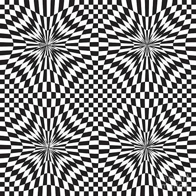 Fluttering Digital Art - Abstract Vector Pattern by Michal Boubin