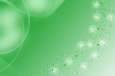 Abstract_colors_dispersion _green Original by Faheem Iqbal