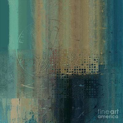 Abstract Wall Art Digital Art - Abstractionnel - J-030097043-trq by Variance Collections