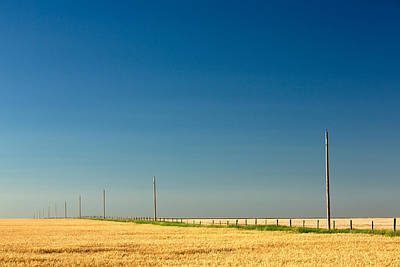Abundant Plains Print by Todd Klassy