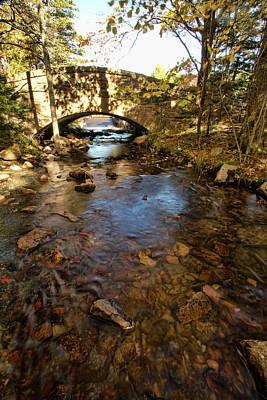 River Jordan Photograph - Acadia Bridge by Alexander Mendoza