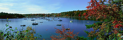 Acadia National Park In Autumn, Maine Print by Panoramic Images
