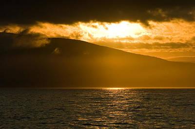 Sailboat Photograph - Acadia National Park Sunset by Sebastian Musial