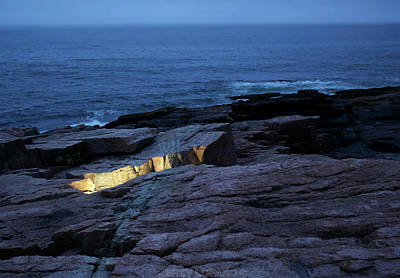 Sea Blue Digital Art - Acadia Nocturnes by Jerry LoFaro