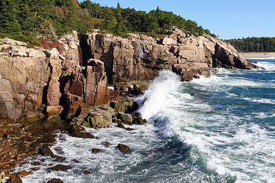 Photograph - Acadia Storm by David Yunker