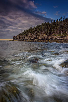 Incoming Tide Photograph - Acadian Tide by Rick Berk