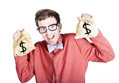 Accountant Photograph - Accountant With Tax Return by Jorgo Photography - Wall Art Gallery