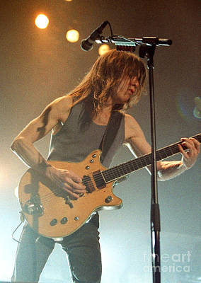 Concert Photograph - Acdc-96-malcolm-0127 by Timothy Bischoff