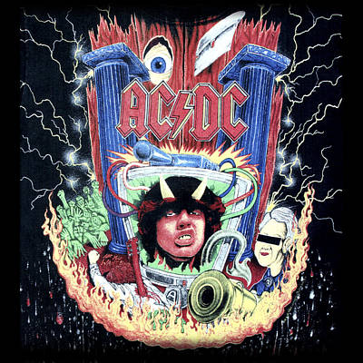 Tnt Digital Art - Acdc by Gina Dsgn