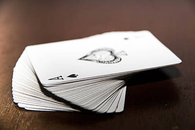 Playing Cards Photograph - ACE by Hyuntae Kim