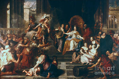 Achates And Aeneas Print by Granger