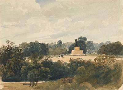 Hyde Park Painting - Achilles Statue - Hyde Park London by Mountain Dreams