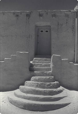 Acoma Steps Print by Jerry McElroy